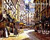 Картина по номерам Menglei Рестораны Парижа худ. Парк, Сунг Сам (VP266) 40 х 50 см