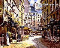 Картина по номерам Menglei Рестораны Парижа худ. Парк, Сунг Сам (VP266) 40 х 50 см, фото 1