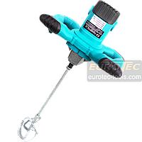 Строительный электромиксер для бетона и растворов Champion CP 1200, ручной строительный миксер для смесей, фото 1