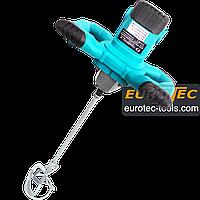 Строительный электромиксер для бетона и растворов Champion CP 1200, ручной строительный миксер для смесей