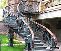 Лестницы металлические