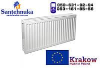 Стальной радиатор отопления Krakow 22 тип 500х500 (965 Вт)