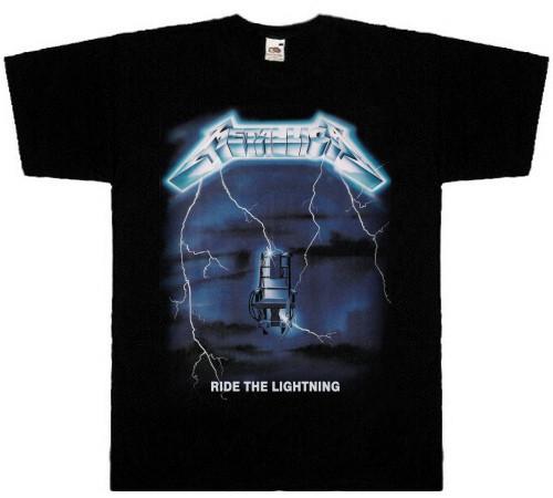 Футболка METALLICA - Ride The Lightning