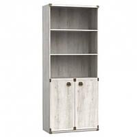 Книжный шкаф BRW Индиана JREG2do/80 80х195,5х40 сосна каньйон