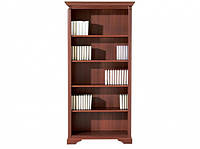 Книжкова шафа BRW Стіліус NREG100 97,5х201,5х39 черешня антична