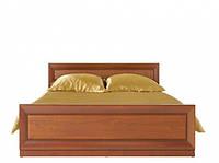Кровать двуспальная BRW Ларго Классик+ламель 160х200 вишня итальянская