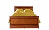 Кровать односпальная BRW Ларго Классик+ламель 90х200 вишня итальянская, фото 1