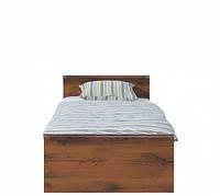 Кровать односпальная  BRW Индиана + ламель 90х200 дуб шутер, фото 1