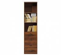 Книжный шкаф BRW Индиана JREG4so/50 50х195,5х40 дуб шутер