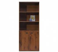 Книжный шкаф BRW Индиана  JREG2do/80 80х195,5х40 дуб шутер