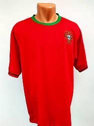 Футбольная форма взрослая/сборная Португалия бордовая взрослая/комплект футбольный на команду/футбол