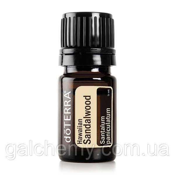 Hawaiian Sandalwood Essential Oil / Гавайское сандаловое дерево (Santalum paniculatum), эфирное масло, 5 мл
