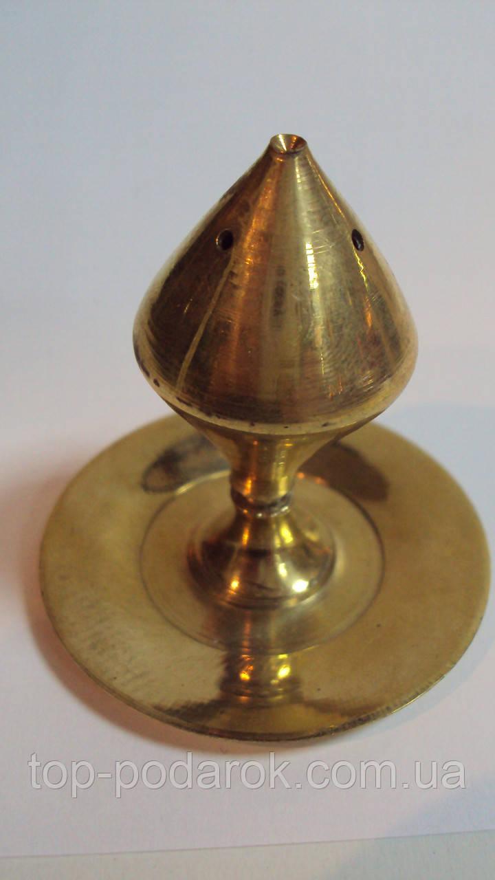 Подставка под благовония бронзовая размер 5*6