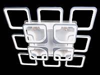 Светодиодная люстра с пультом-диммером белая 8060-8+4, фото 1