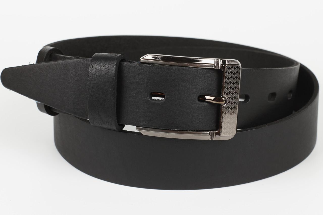 Ремень кожаный брючный джинсовый Masco 35 мм