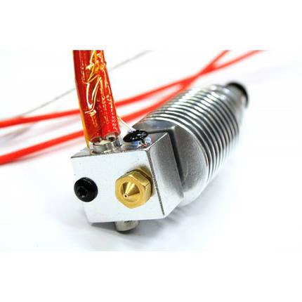 Экструдер  Hotend ED3 V6 1.75 (в сборе) с цангой для выноса мотора, фото 2