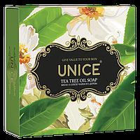 Натуральне мило Unice(Юнайс), олія чайного дерева, 100 г, 3605033