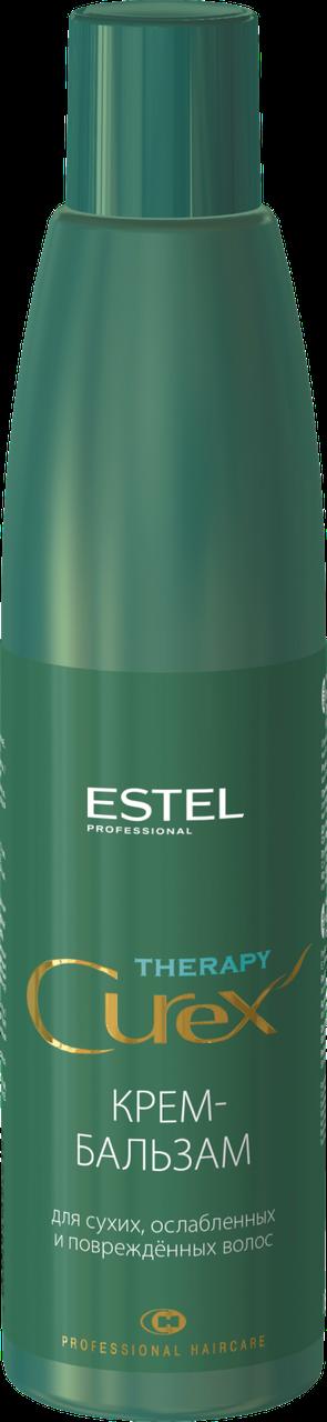 Крем-бальзам Estel Curex Therapy Для сухих ослабленных и поврежденных волос