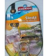 Оселедець в олії Amerigo 170гр