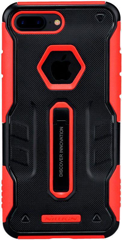 Чехол-накладка Nillkin Defender IV case with Holder iPhone 7 Plus Black/Red