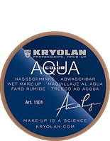Коричневый аквагрим AQUACOLOR 8 мл (оттенок FS 25)