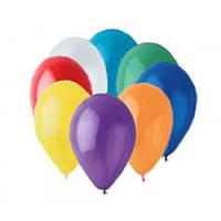 """Воздушные латексные шары G110 12""""(30см) Кристалл Ассорти В упак:100 шт."""