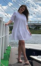 Сукня великих розмірів з прошви Лялечка, фото 3