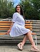 Сукня великих розмірів з прошви Лялечка, фото 2