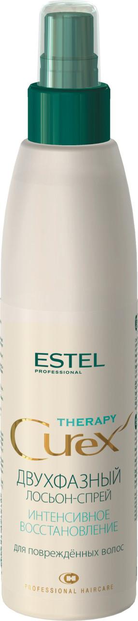 Двухфазный лосьон-спрей Estel Curex Therapy Для поврежденных волос