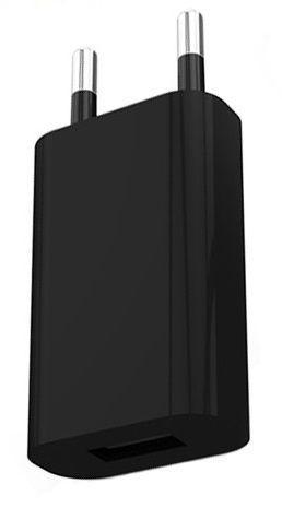 Сетевое зарядное устр-во СЗУ TOTO TZR-08 Travel charger 1USB 1A Black
