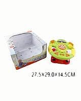 музыкальная игрушка детская Руль 2295 батарейки , в короб. 30,5*31*11,5* см.