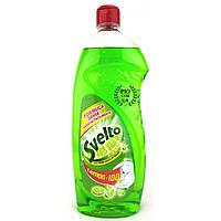 Средство для мытья посуды Svelto Azione Anti-Odore Aceto&Limone Verde 1l