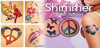 Блеск татуировки Shimmer Glitter Tattoos !Спешите