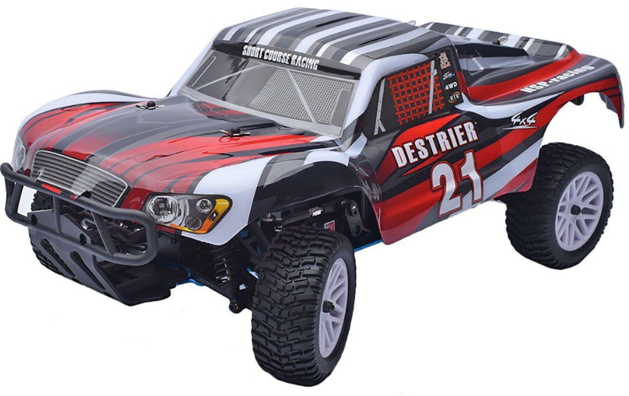 Автомобиль на радиоуправлении HSP Destrier 1:10 4WD nitro RTR