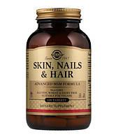 Витамины Solgar для кожи, ногтей и волос (Skin, Nails, Hair) 120 таблеток