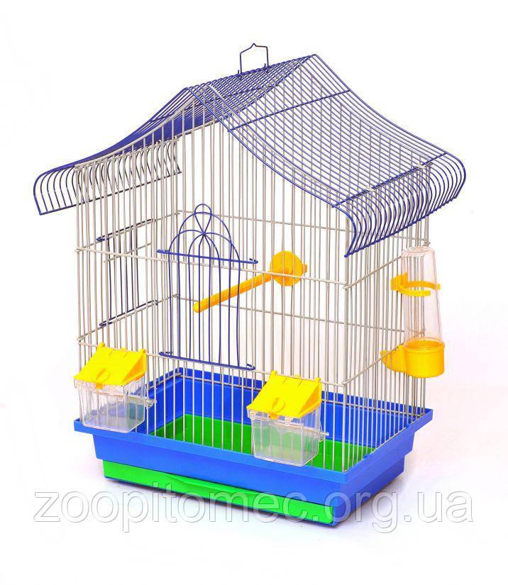 Клетка для попугаев Міні 1 Мини1 Лори 330х230х450