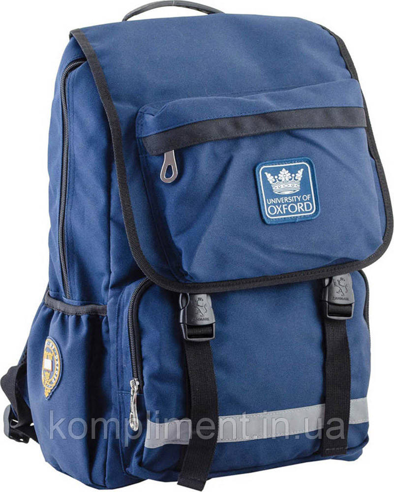 Підлітковий Рюкзак шкільний OXFORD 228, синій, 30*45*15, YES