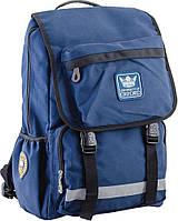 Підлітковий Рюкзак шкільний OXFORD 228, синій, 30*45*15, YES, фото 1