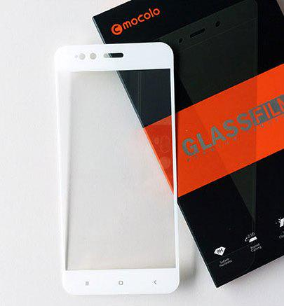 Защитное стекло Mocolo для Xiaomi Mi A1 / Mi5X полноэкранное белое