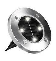 Cадовые светильники на солнечной батарее Disk Lights MOD-L015-1 (4шт)