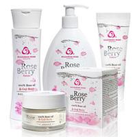 ROSE BERRY NATURE  косметическая серия с натуральным розовым маслом и экстракт ягод Годжи