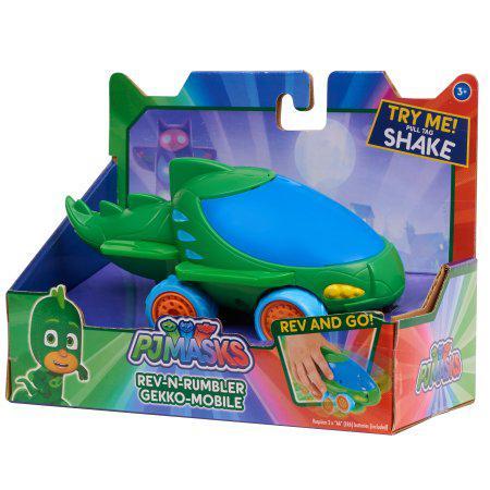 Геккомобиль-грохотун PJ Masks Rev-N-Rumblers  Gekko Mobile