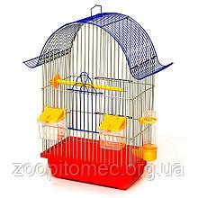 Напівкругла клітка для птахів Ретро Лорі, 28*18*45 см
