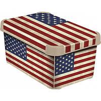 Коробка декоративная Deco's USA FLAG 6л