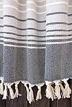 Плед-накидка 150х200см Quad черный Barine, фото 2