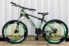 Велосипед Горный 26 колеса переключатели полуавтомат, фото 3