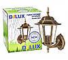 Світильник садово-парковий PALACE A001 60Вт Е27 чорний-золото