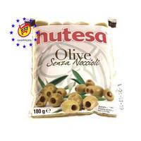Оливки зеленые «Hutesa» без косточки, 180 г.
