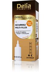 Мульти-филлер Delia Cosmetics GOLD & COLLAGEN No-WRINKLE MUKTI-FILLER Rich care против морщин 15 мл