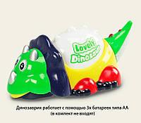 Динозавр (музыкальный) 8368-1 светящ., движ., батарейки ,в коробке 23*13*13